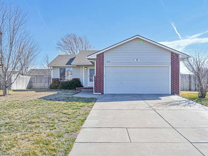 Call Garrett Pepper to see this beautiful ranch home in the highly desired Goddard school districts.