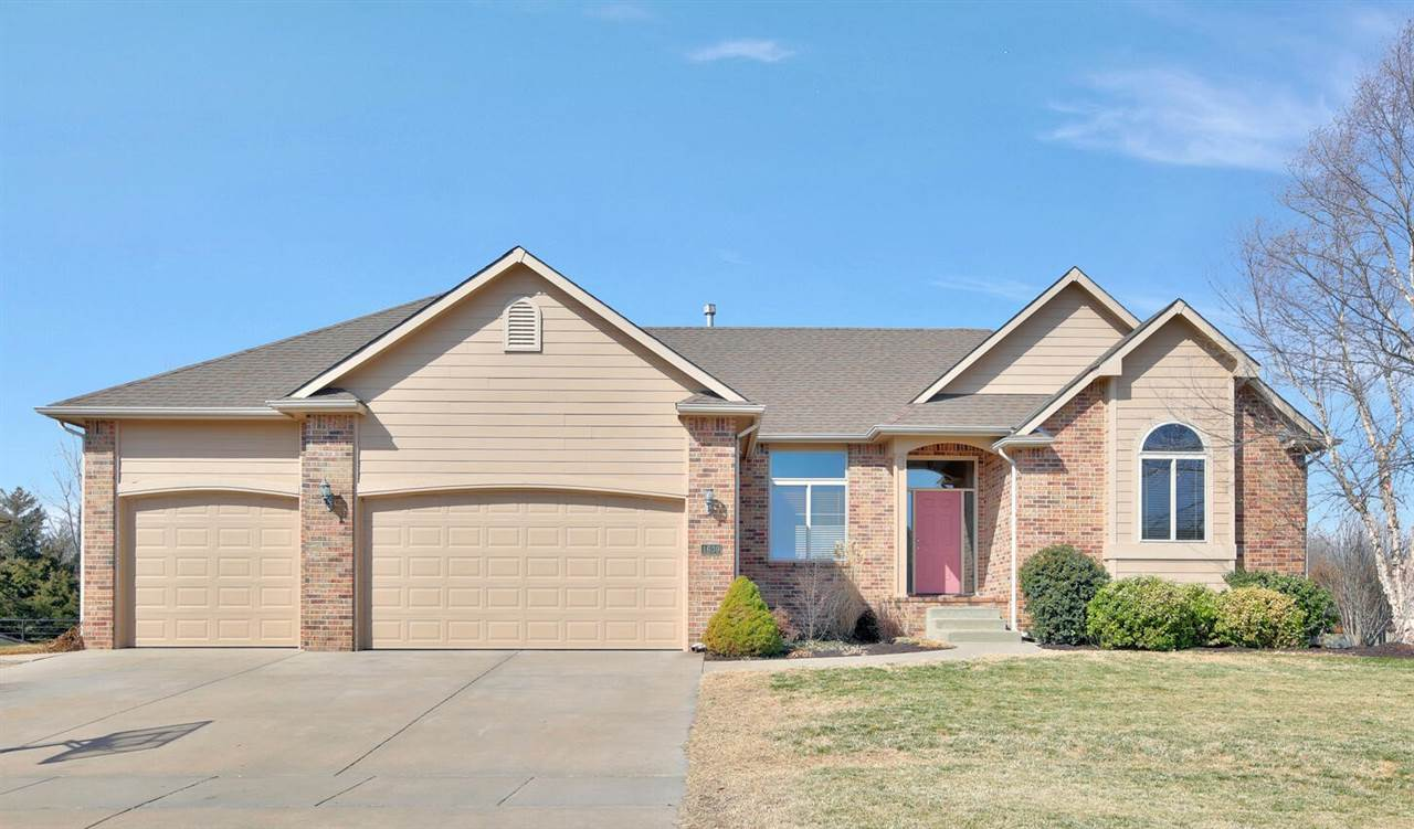 Welcome home! Nestled on a lot backing to beautiful private acreage, this spacious ranch offers the