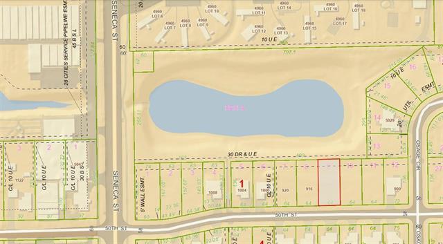 For Sale: LOT 9  BLOCK 1 SYCAMORE POND ADD, Wichita KS