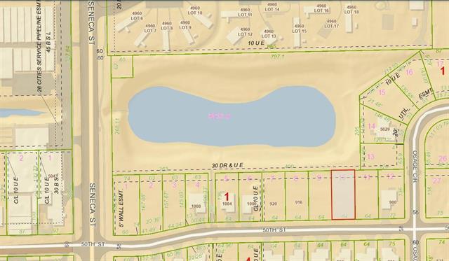For Sale: LOT 10  BLOCK 1 SYCAMORE POND ADD, Wichita KS