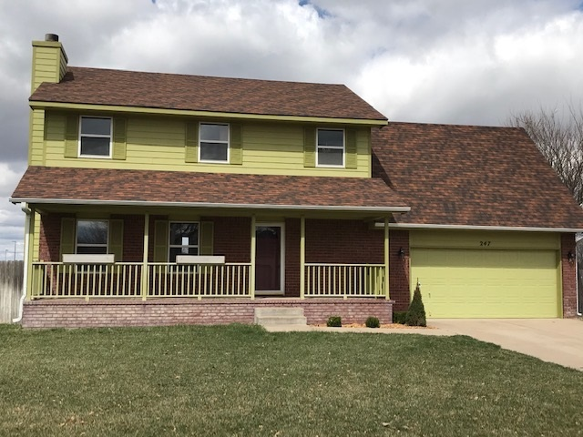 Lovely 2 story home with all new interior paint, new kitchen quartz countertops, flooring, and new r