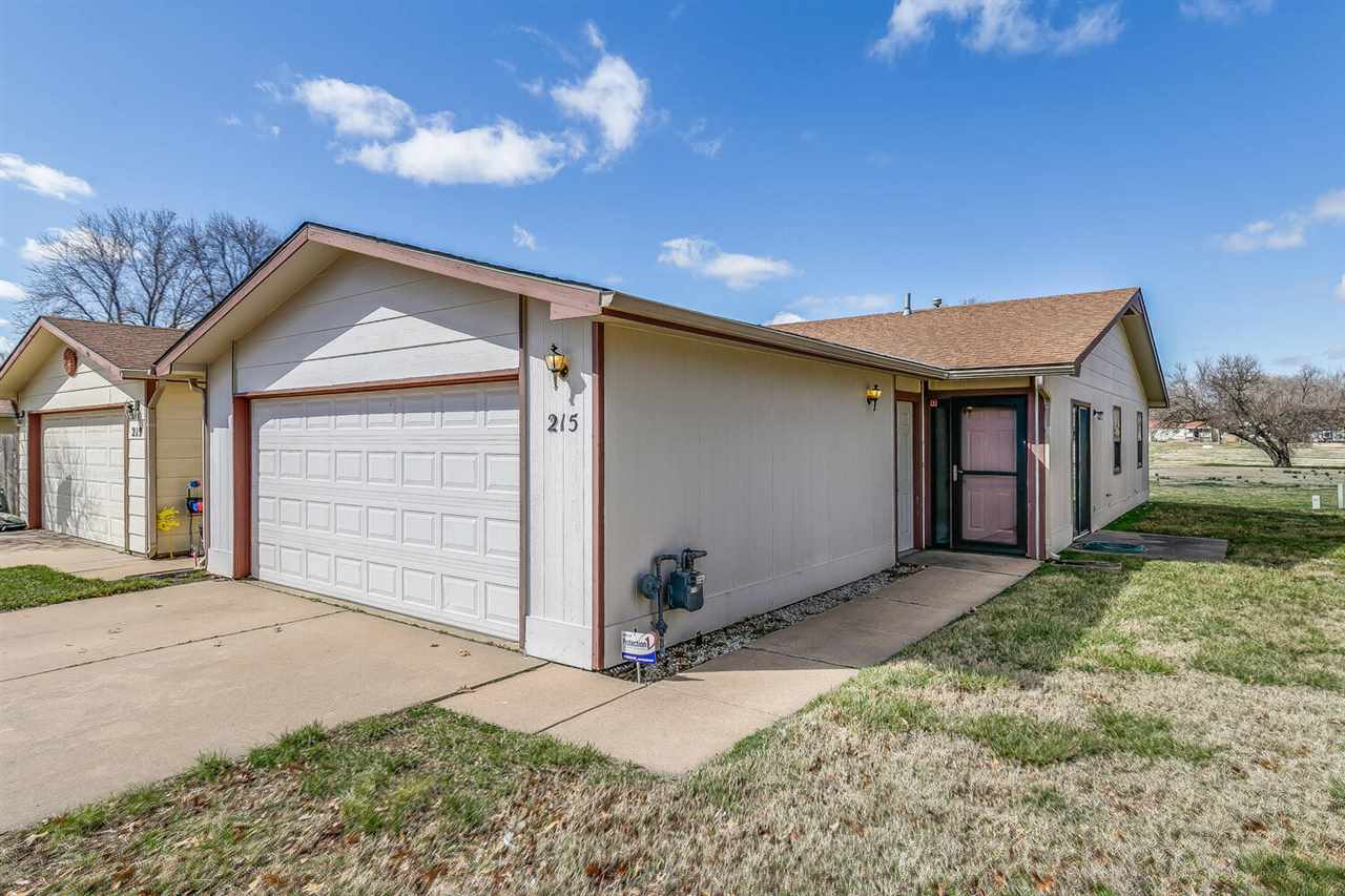 Nice 3 bedroom duplex with 3 bedrooms, 2 full bathrooms, 2 car garage.  Brand New carpet just laid 3/13/21. Dishwasher has never been used, since purchased it was never been installed or hooked up.