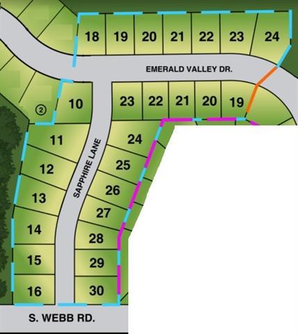 For Sale: 1513 N Emerald Valley Dr, Mulvane KS