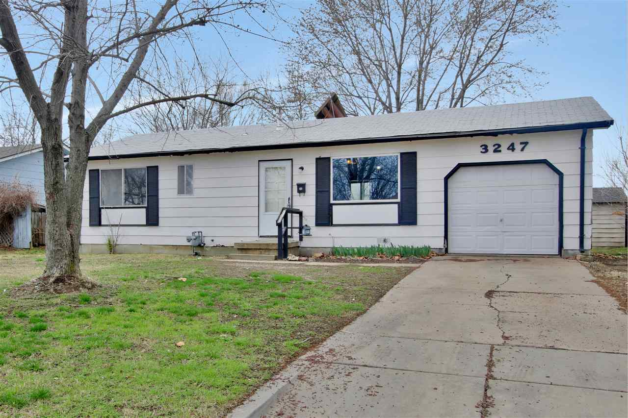 3 bed 1 bath ranch home located at Meridian and 31st. Walking distance to the park! This home would