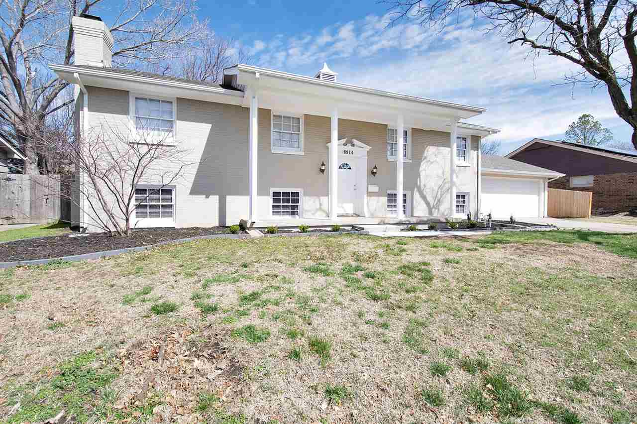 Hard to find 6 Bedroom home with new updates and new roof!  Home features 6 xl bedrooms, huge living