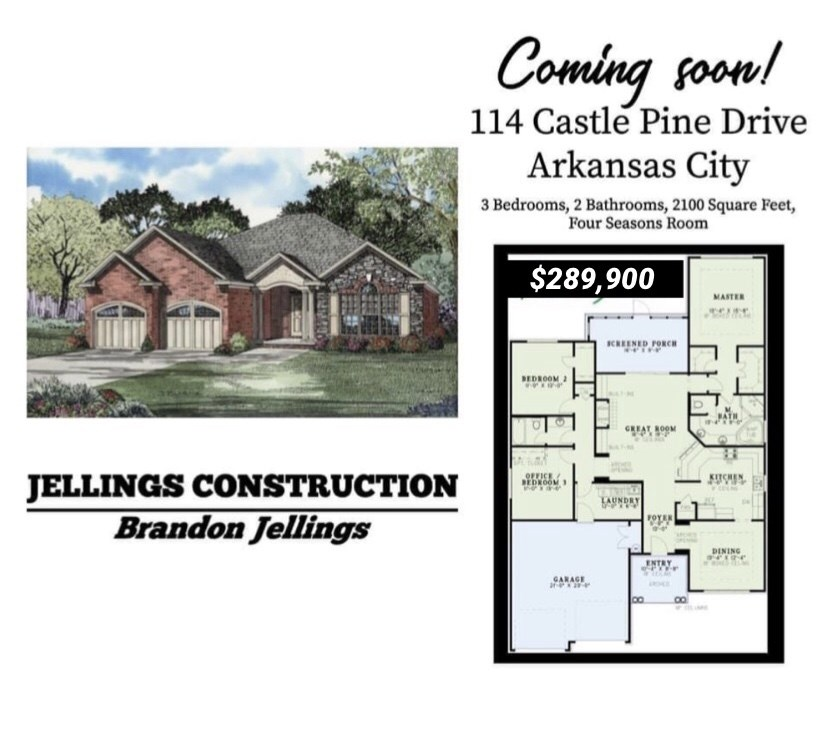 NEW CONTRUCTION! NEW CONSTRUCTION! NEW CONSTRUCTION! THERE IS ANOTHER NEW BUILD GOING UP IN COUNTRY