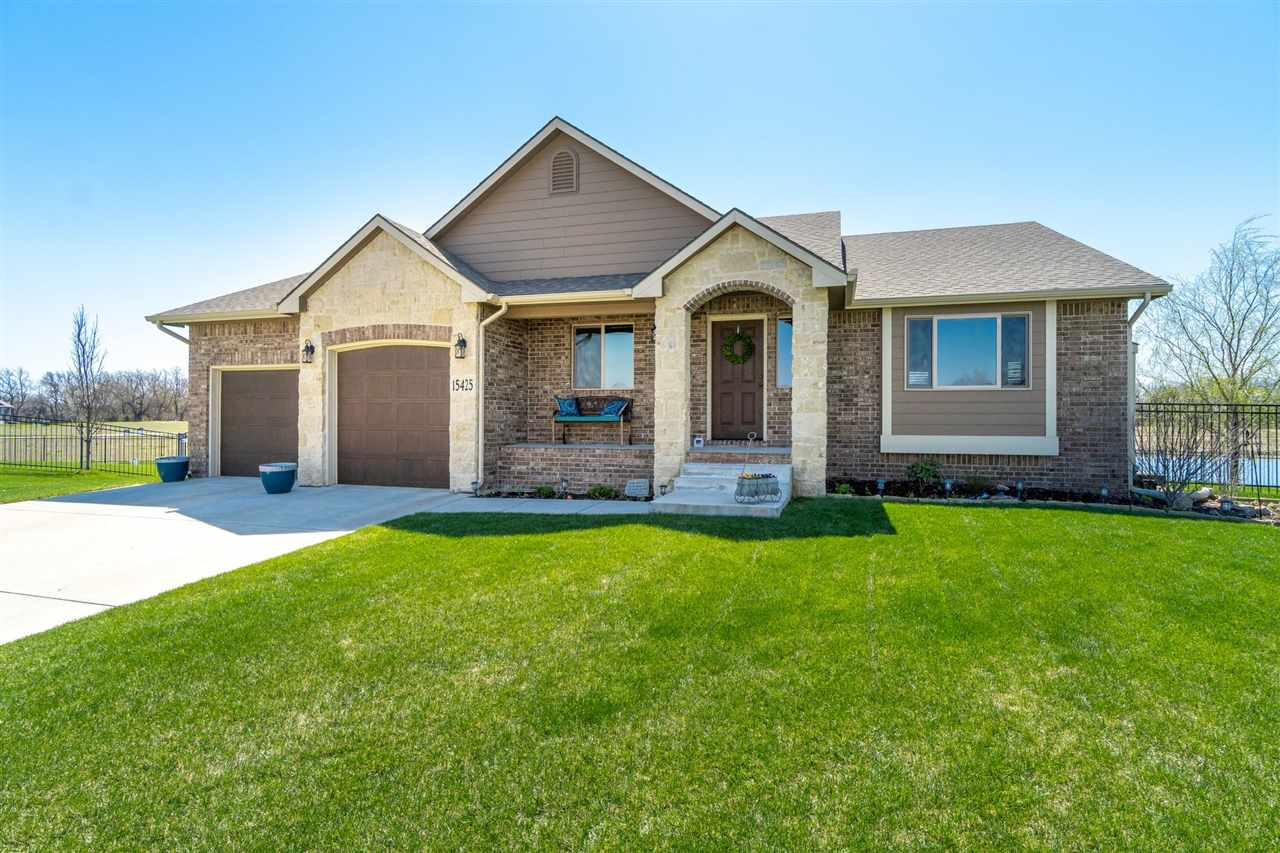 Amazing views!  Open floor plan!  This move-in ready, 4 bedroom, 3 bath home with large living space