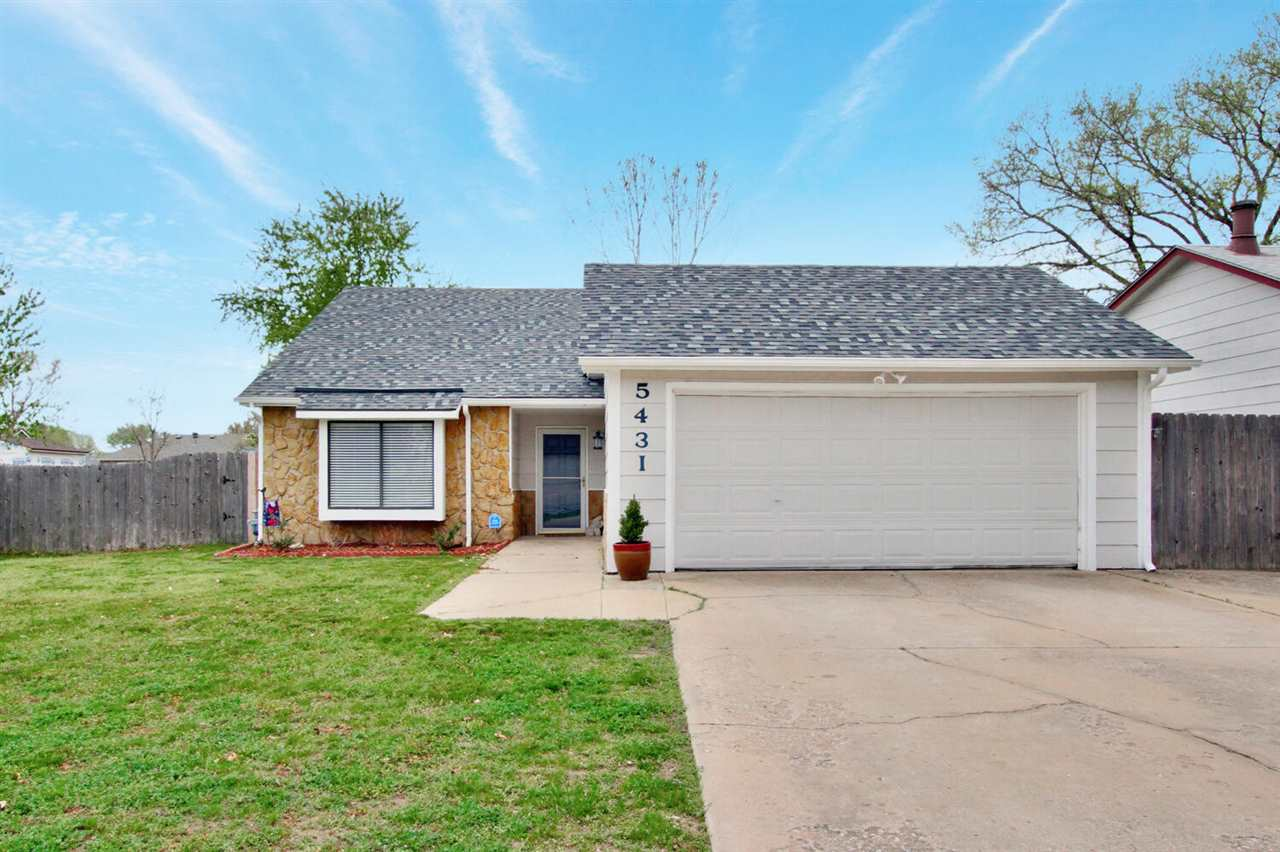 Must see! This adorable move-in ready home is full of updates. Three bedrooms, two full bathrooms, t