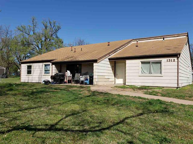 For Sale: 1312-1314 N 12th St, Arkansas City KS