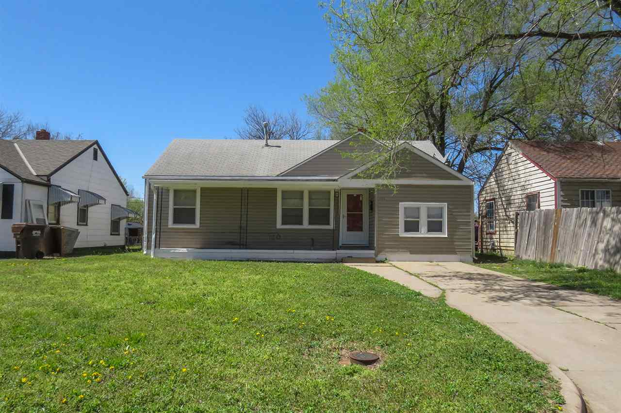 Updated 3-bedroom, 1-bathroom ranch located in northeast Wichita near Wichita State University! The