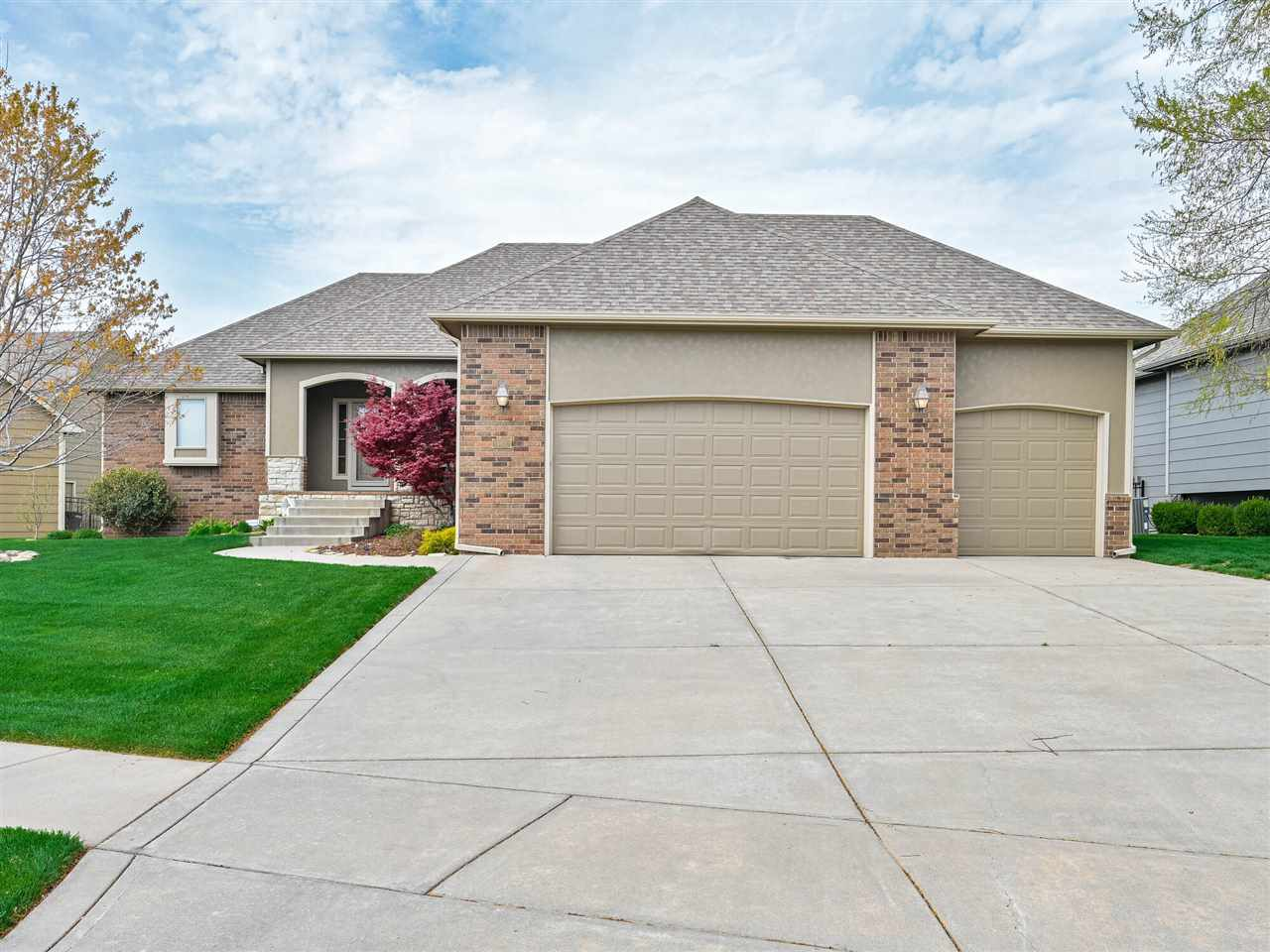 Wonderful home in the highly desired Watercress development in the Maize School District! The home s