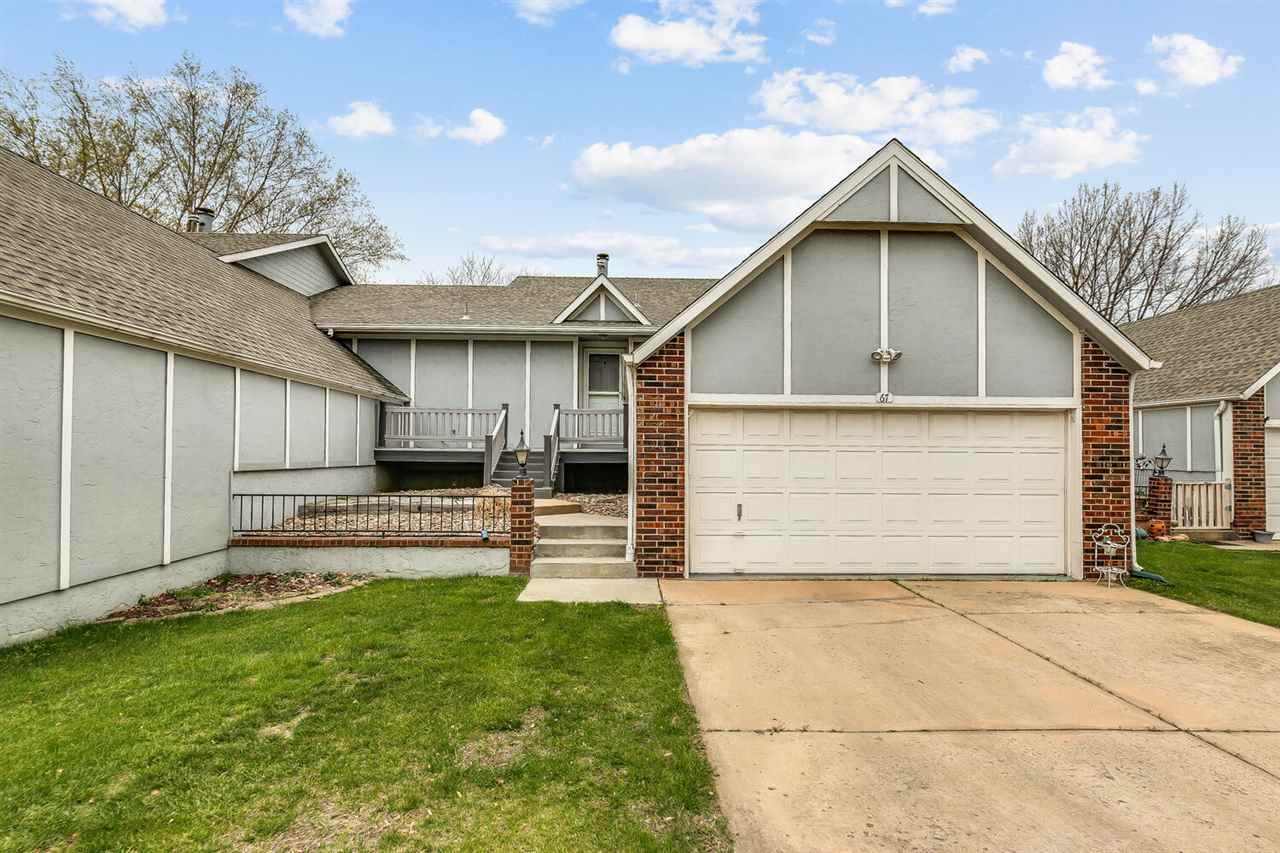 ALL NEW PLUSH CARPET throughout this wonderful ranch condo with attached 2 car garage, open floor pl