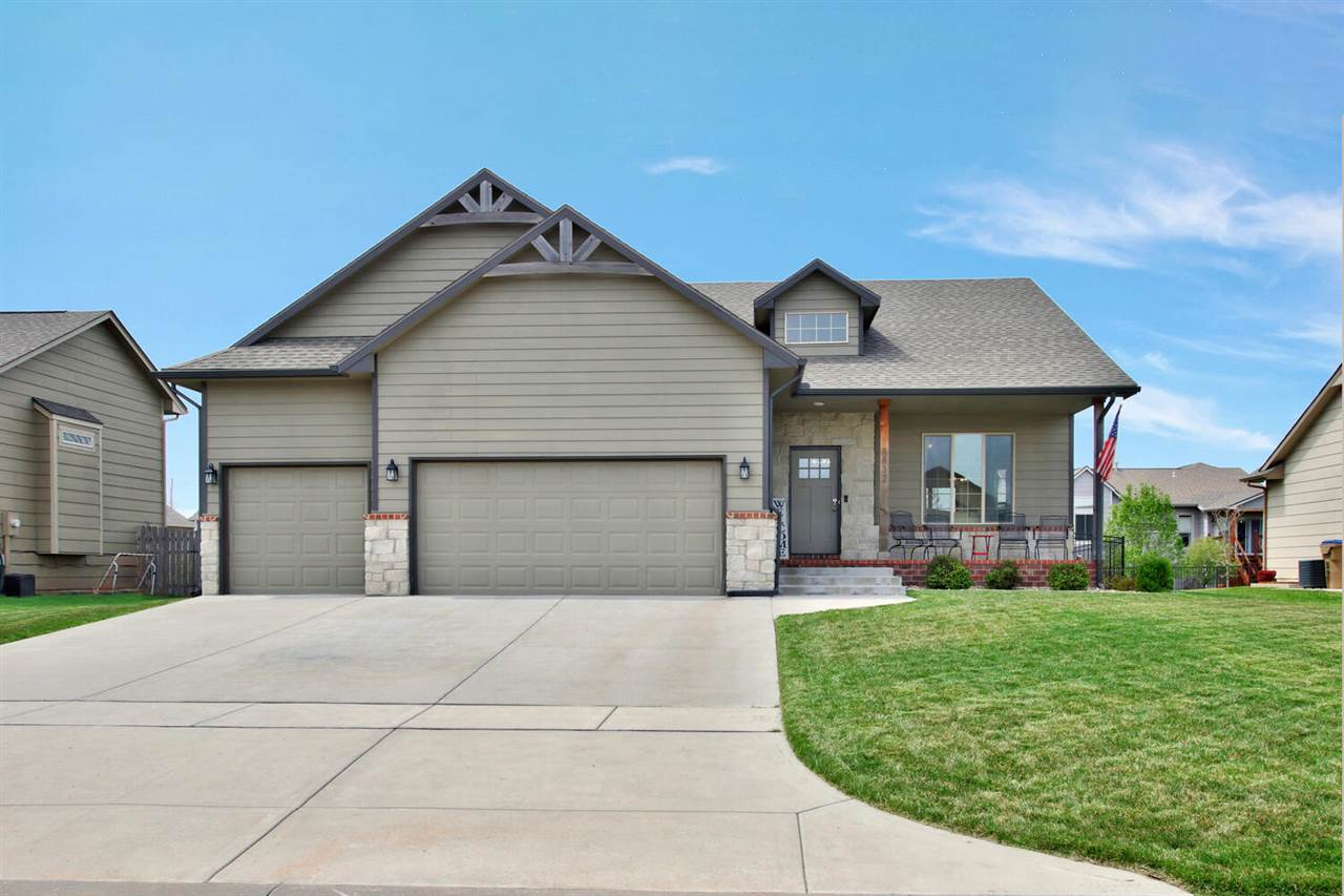 Absolutely STUNNING Ranch Home in Park City. Valley Center Schools, NO SPECIALS. 6 Bedrooms, 3 Bath,