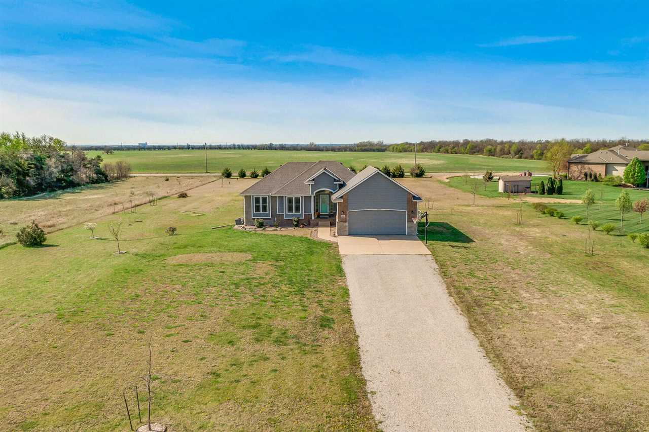 What a rare find to be in a newer home on acreage so close to the city to enjoy and use as your own.