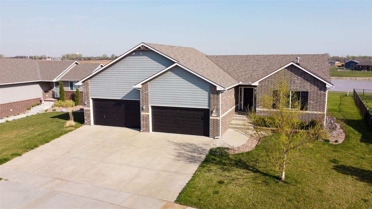 You will love coming home to this move-in ready ranch complete with breathtaking water views from al