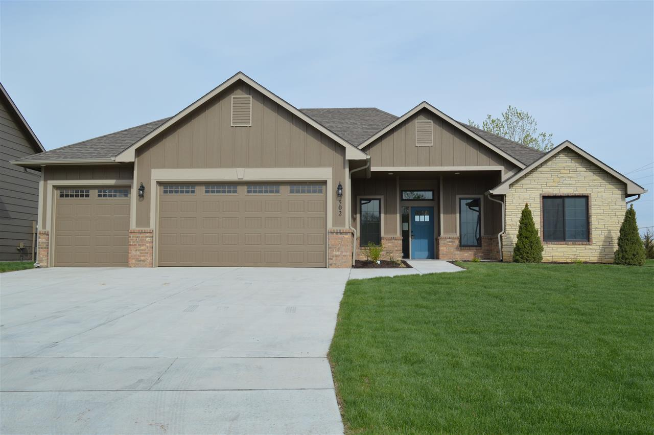 This beautiful custom built spec home in Crestlake is ready to be occupied! It is wheelchair/handica