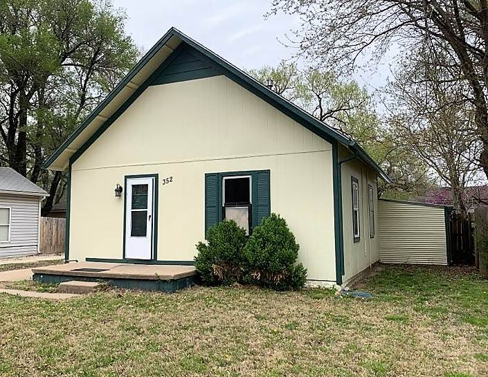 Close to Newman and Friends University, this would make a great rental  or starter home with a littl