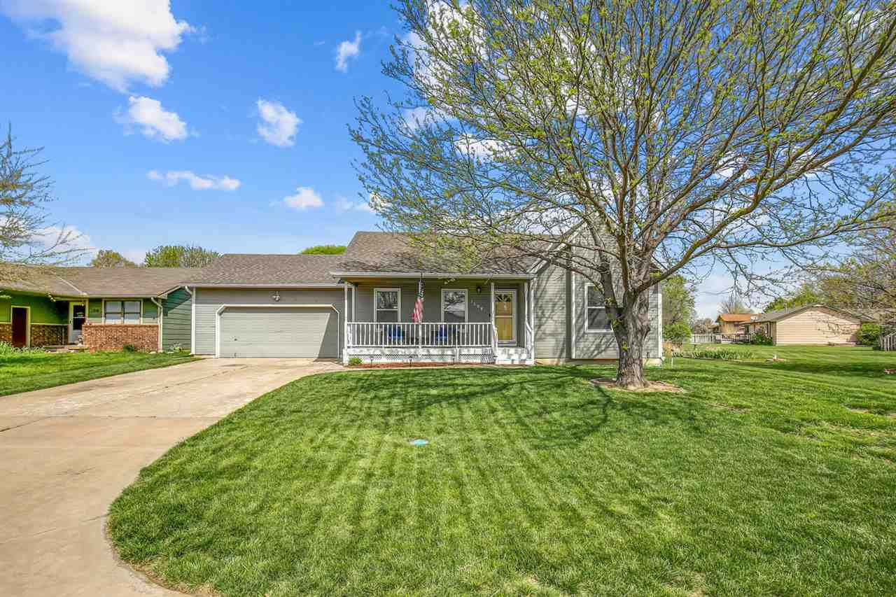 Well cared for home holds 3 bedrooms with a 2 car attached garage.  Pulling up to the home you will