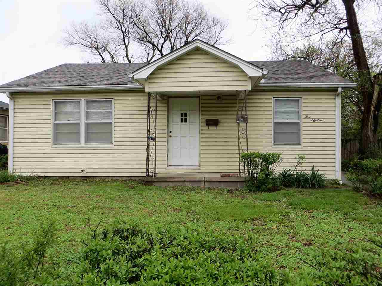 What a find! Four bedroom ranch with detached 2-Car garage for $70,000.  This is an estate and the h