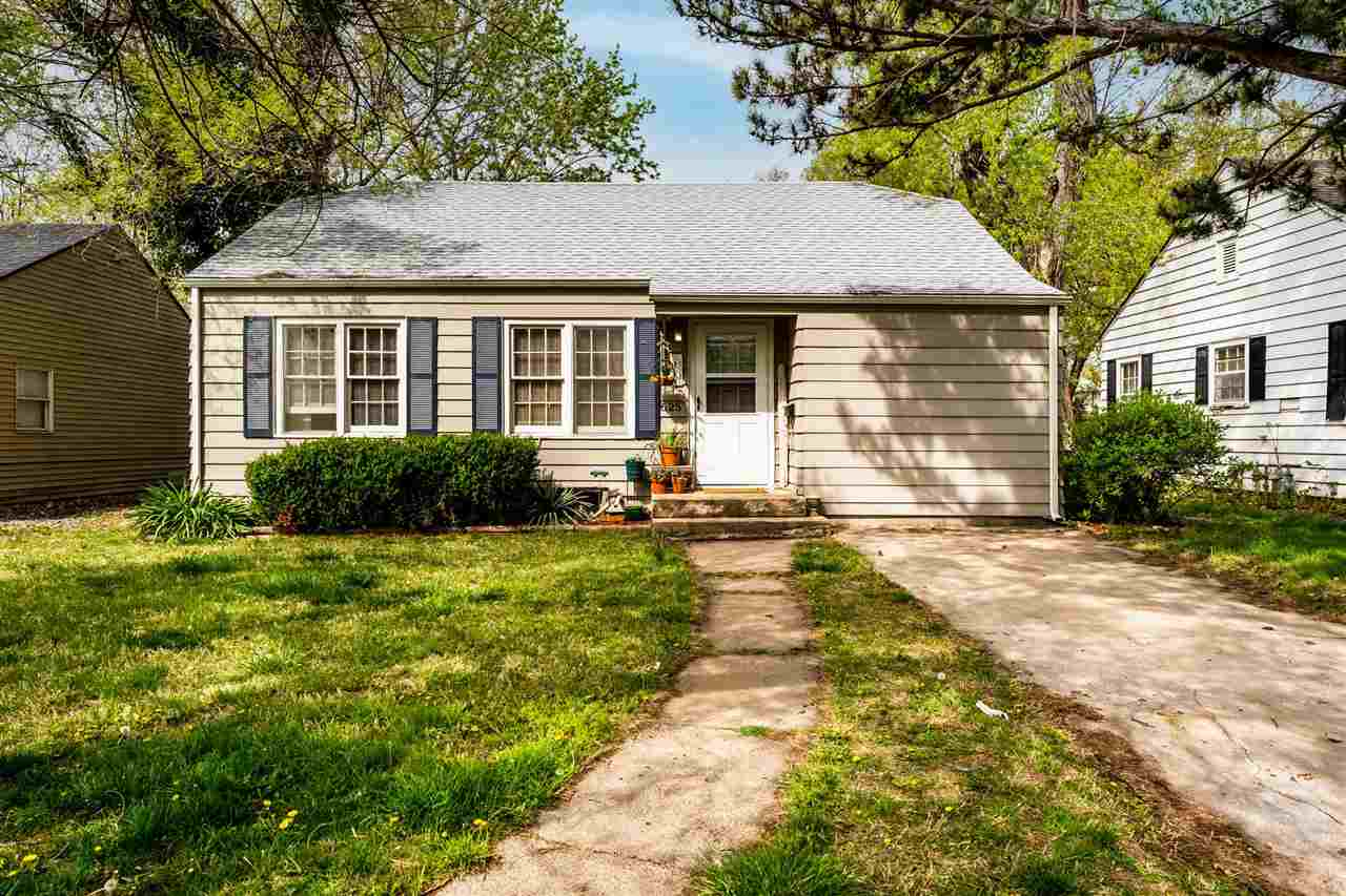 Darling, ranch style home in a mature, quiet neighborhood. Home features three bedrooms, one bath, a