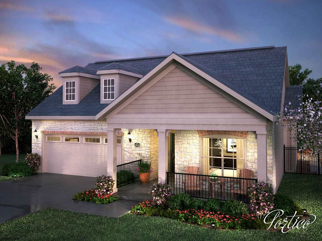 Enjoy maintenance free living at its best in our brand new Courtyards at Auburn Lakes community (on