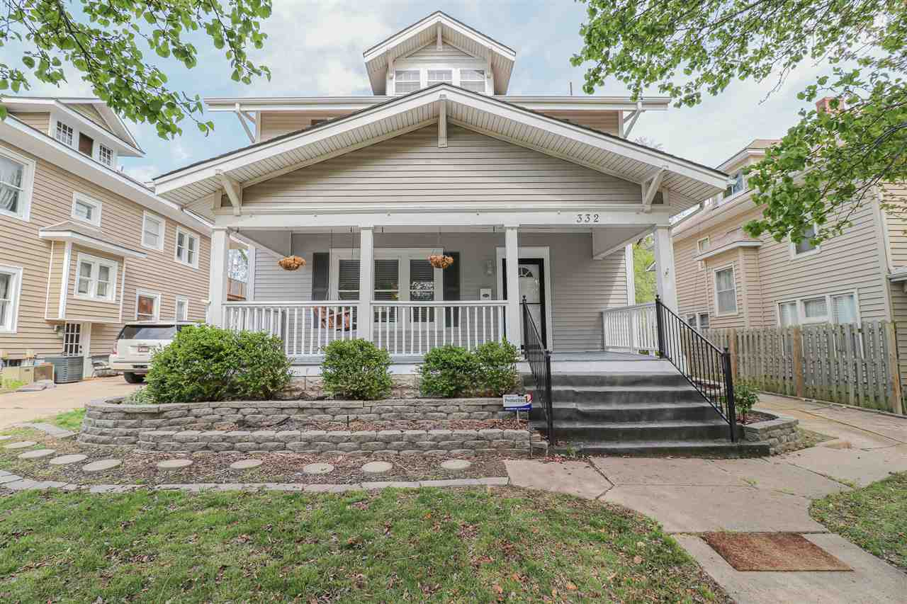Charming College Hill home with a beautiful exterior and spacious interior.  You'll feel instantly a