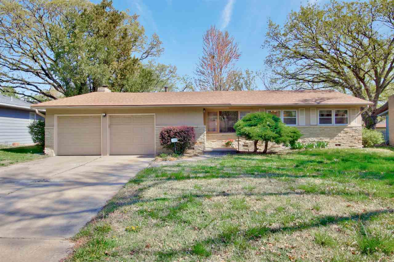 Over 1,500 square feet of charm.  This 3 bedroom, 1.5 bath home has a lot of potential for the right
