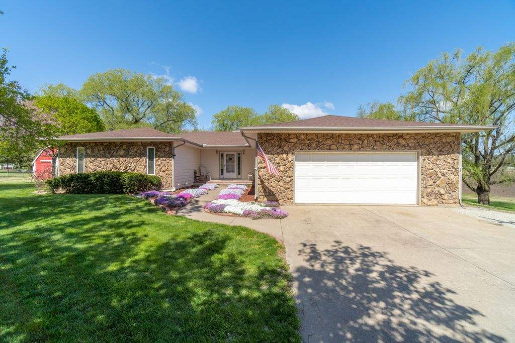 Welcome home to this pristine, completely move-in-ready 3bed/2bath/2car ranch with partial basement,