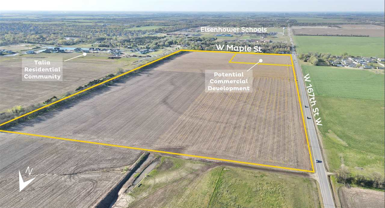 For Sale! Residential and Commercial Development Land. This property is located at the NE/c of 167th