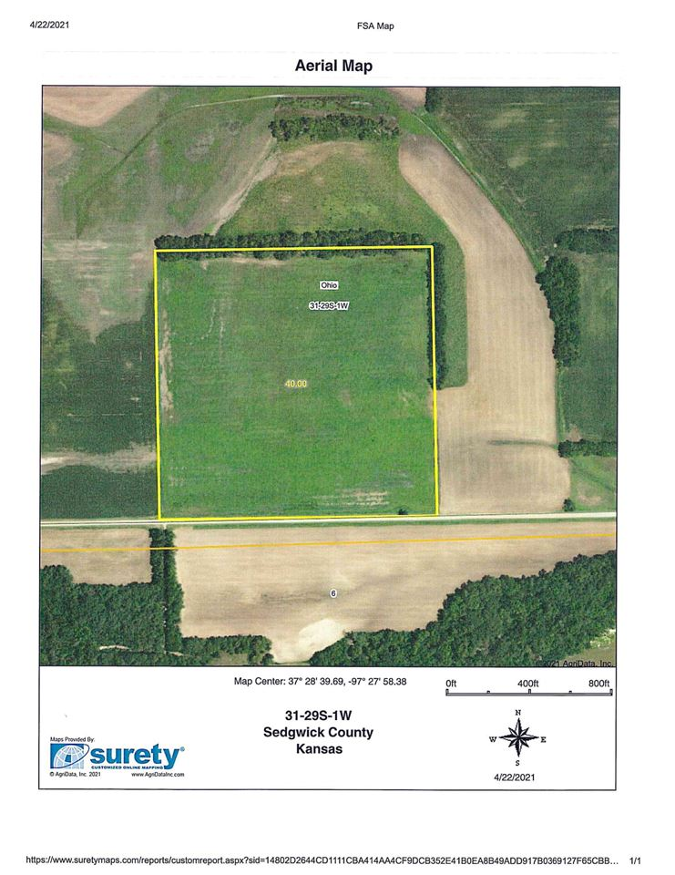 For Sale: W 119th St. S., Clearwater KS