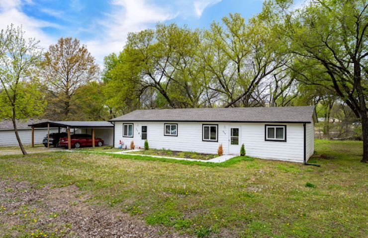 Rare opportunity!  Completely updated duplex in Derby that's fully rented!