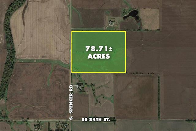 For Sale: 78.71 +/-  Acres in Newton, Newton KS
