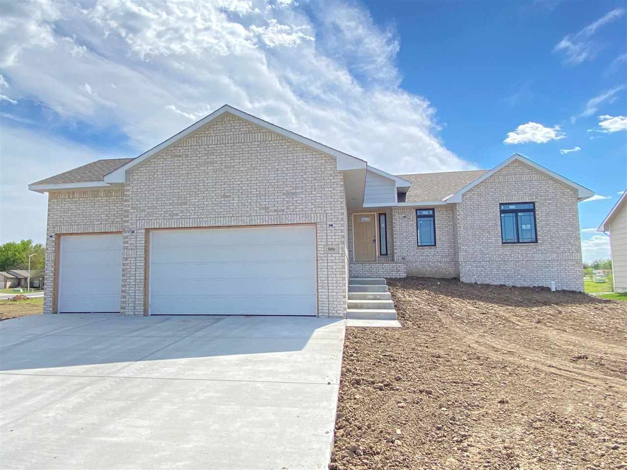 Brand new 5 bedroom 3 full bath home in the Andover school district! Complete with a spacious view-o