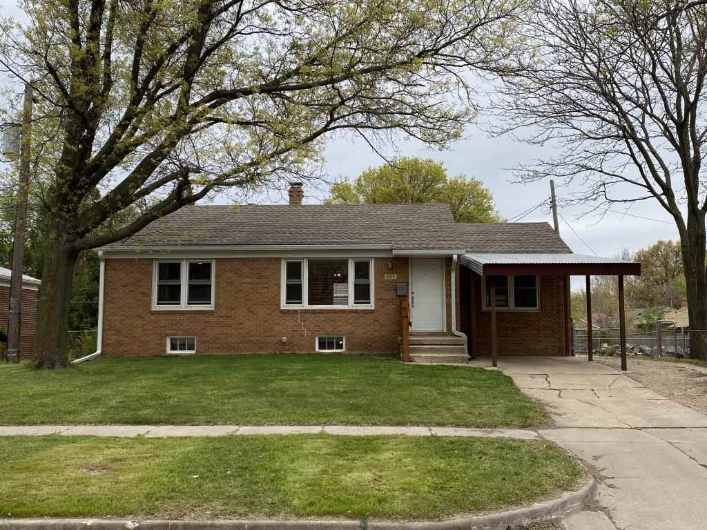 Come take look at this wonderful south-east Wichita home, before it's gone! This two bedroom brick h