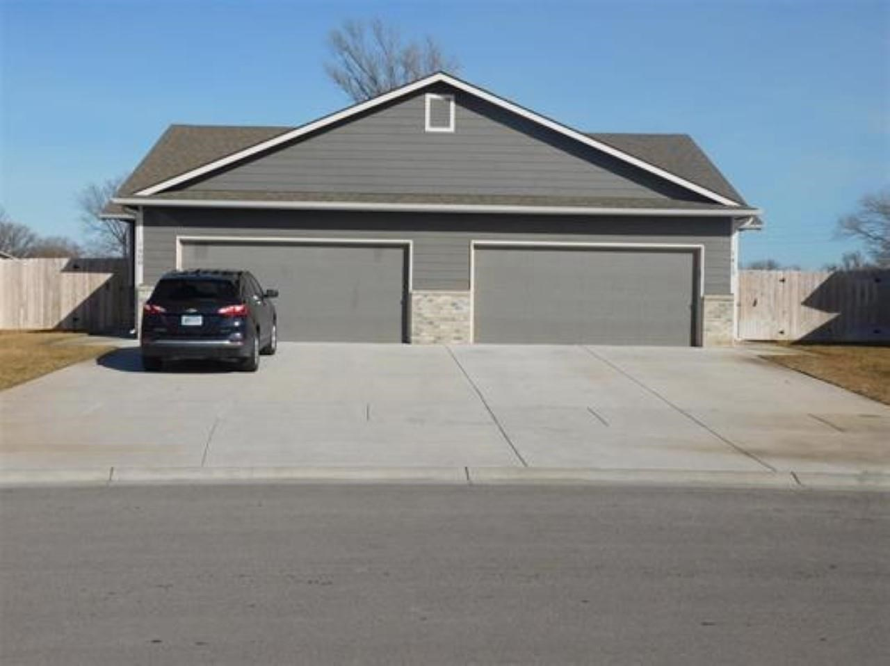 Great opportunity to own and income property or as an investment.  These 3 bed, 2 bath, 2 car duplex