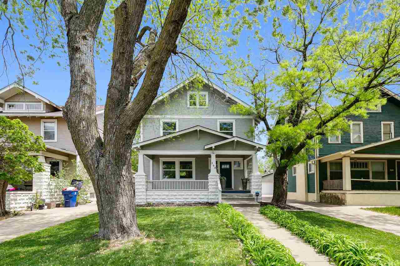 Amazing updates throughout! This 3 story frame College Hill home is move in ready! Built in 1916, th