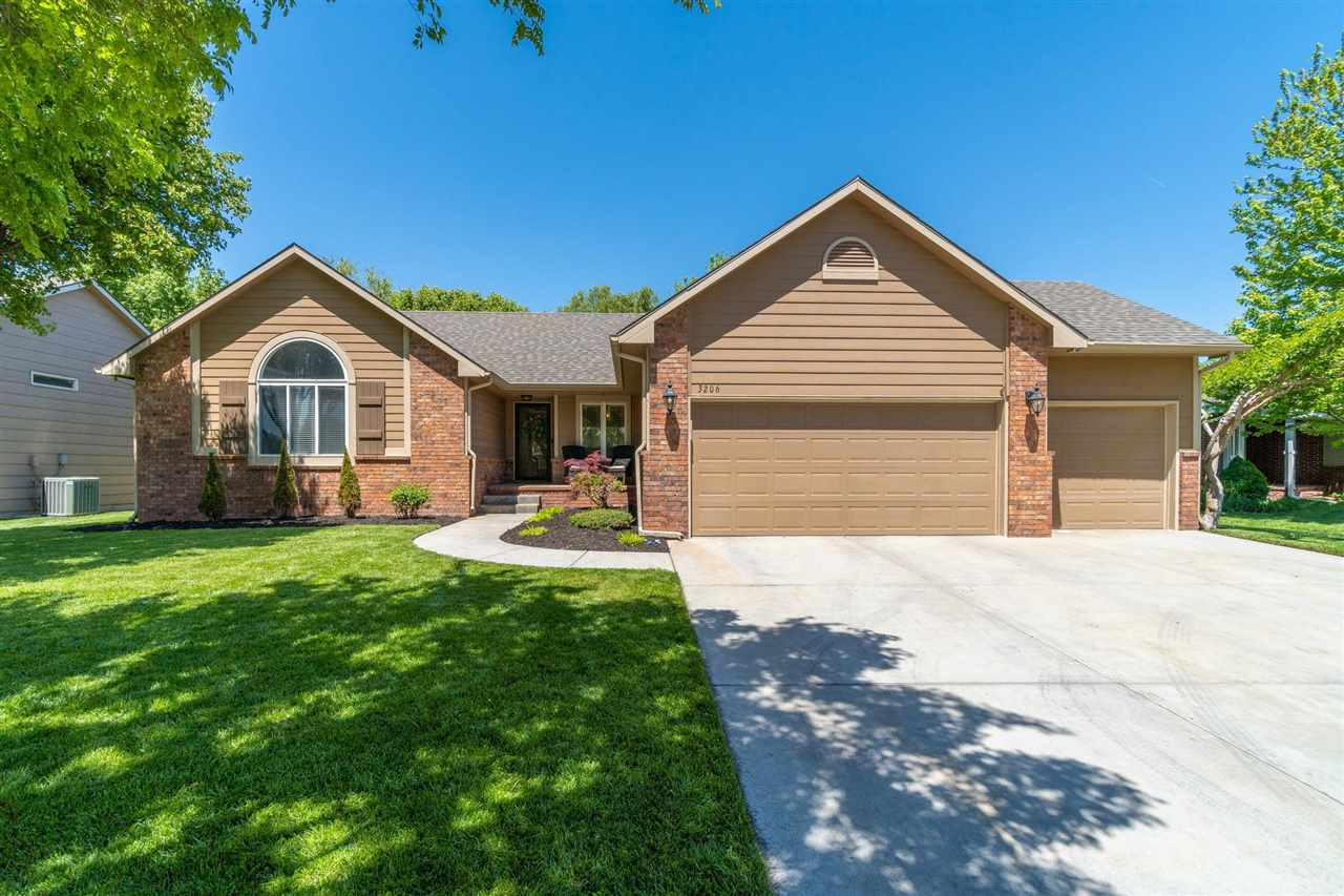A Well-Kept and updated home + an Amazingly sought after Maize South Neighborhood= THE PERFECT HOME!