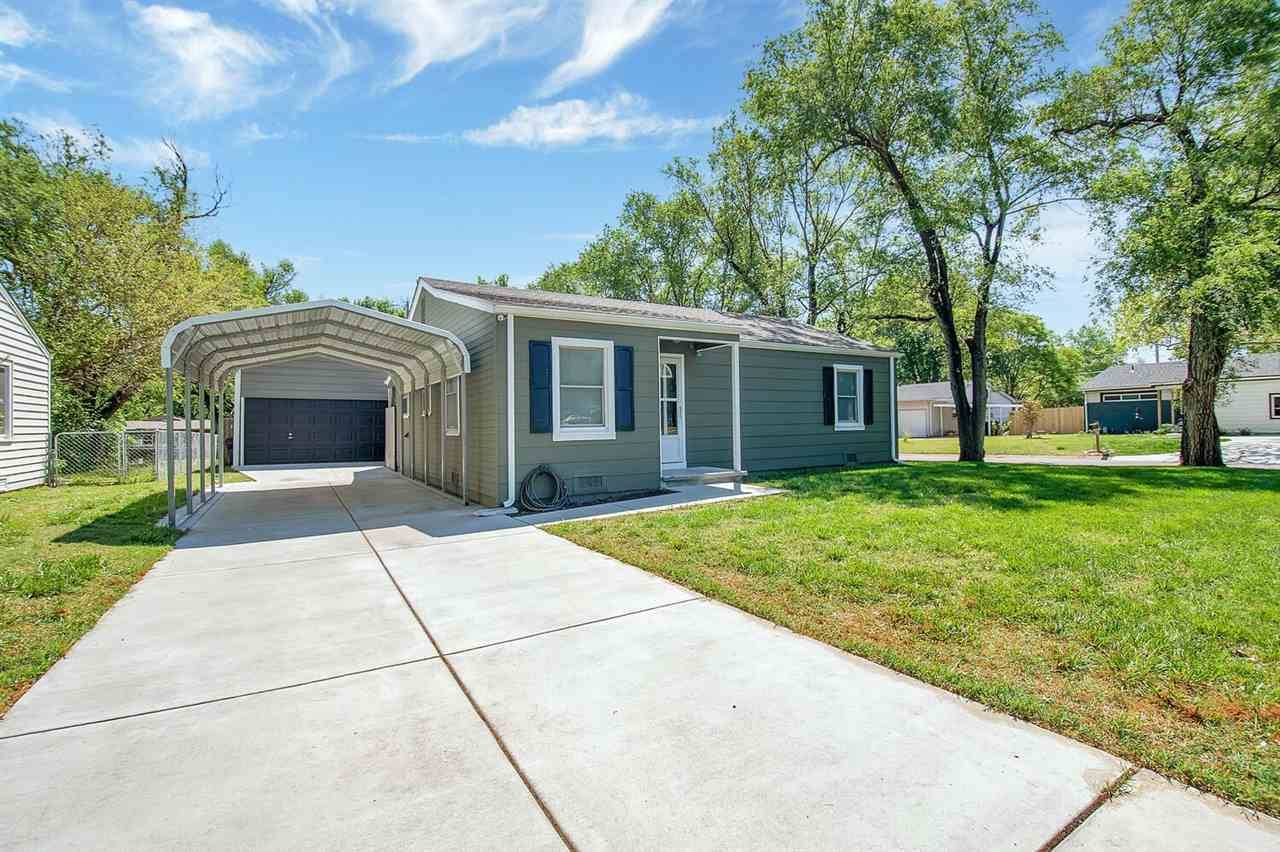 You'll love all this move-in ready home has to offer! This recently remodeled house is located on a