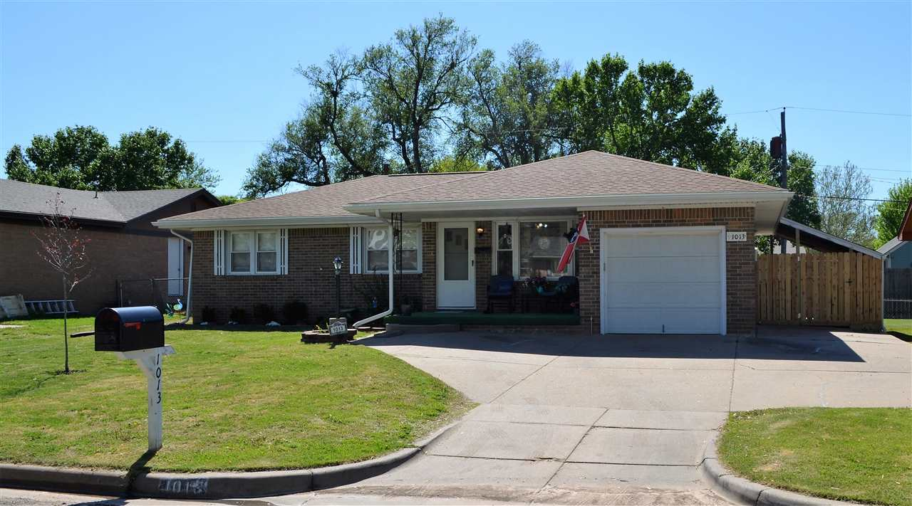 Don't miss this move in ready 3 bedroom all brick home. Enjoy the colorful landscaping, play set in