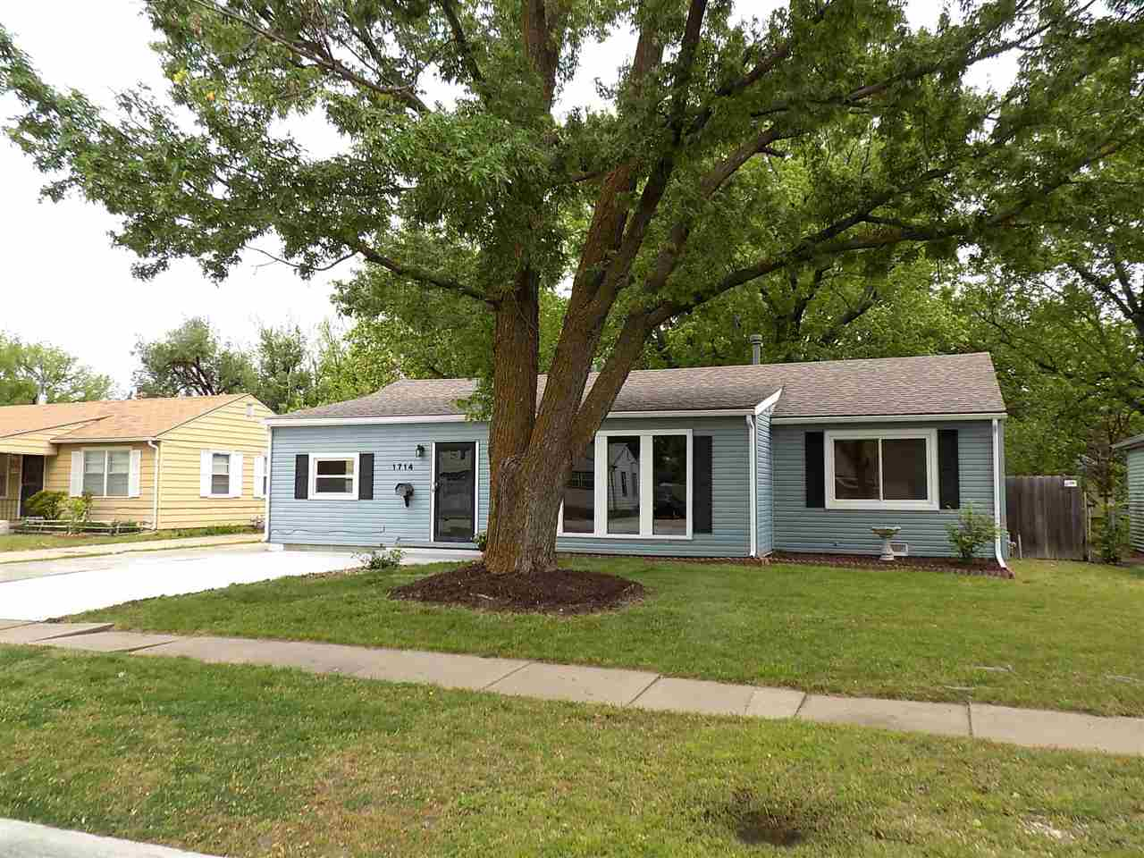 Beautifully updated 4 bedroom, 2 bath, ranch house.  House has hardwood floors throughout, all new i