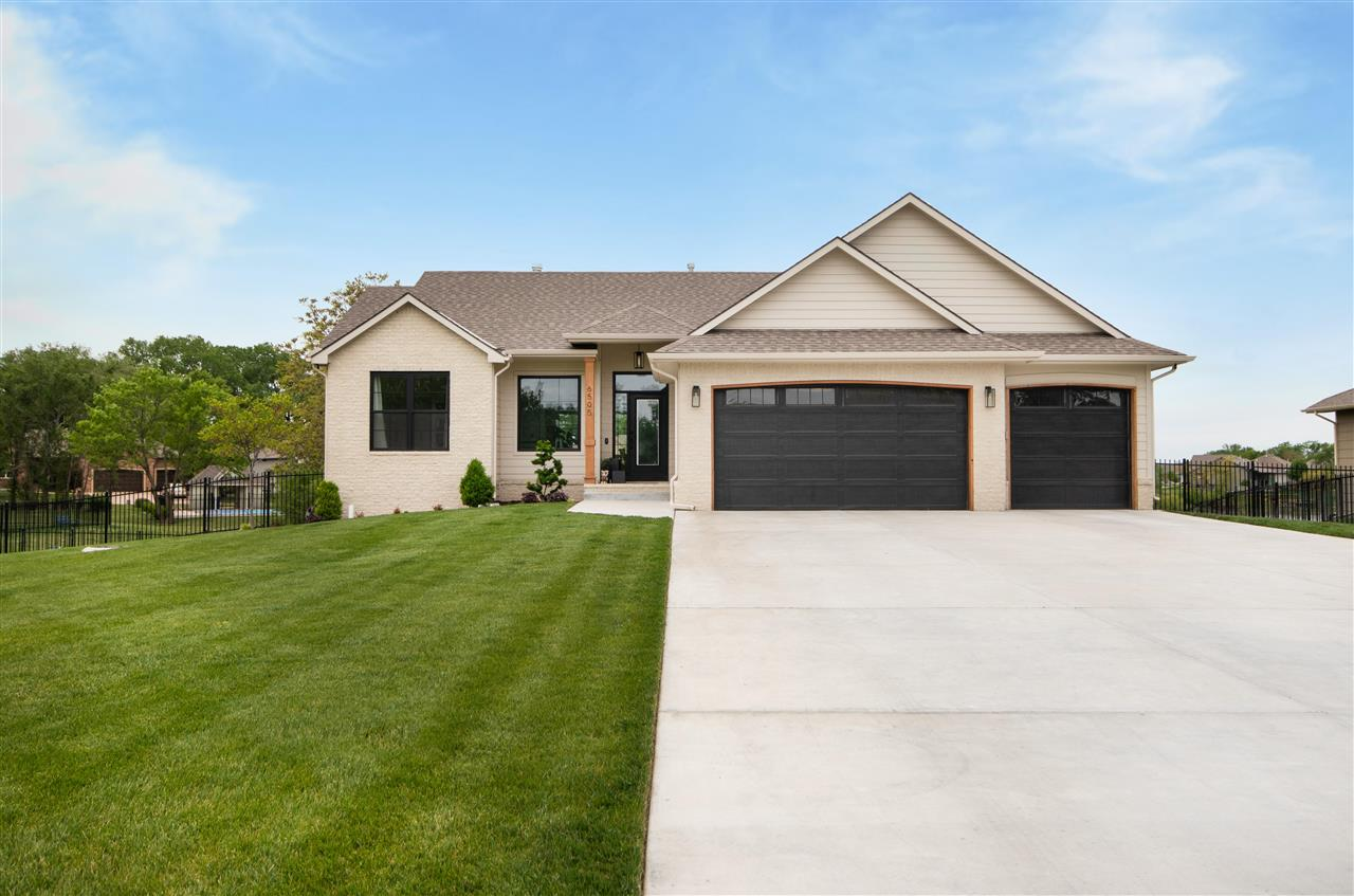 Waterfront custom built home in Derby on two lots! This gorgeous home sits on a .84 acre lot with la