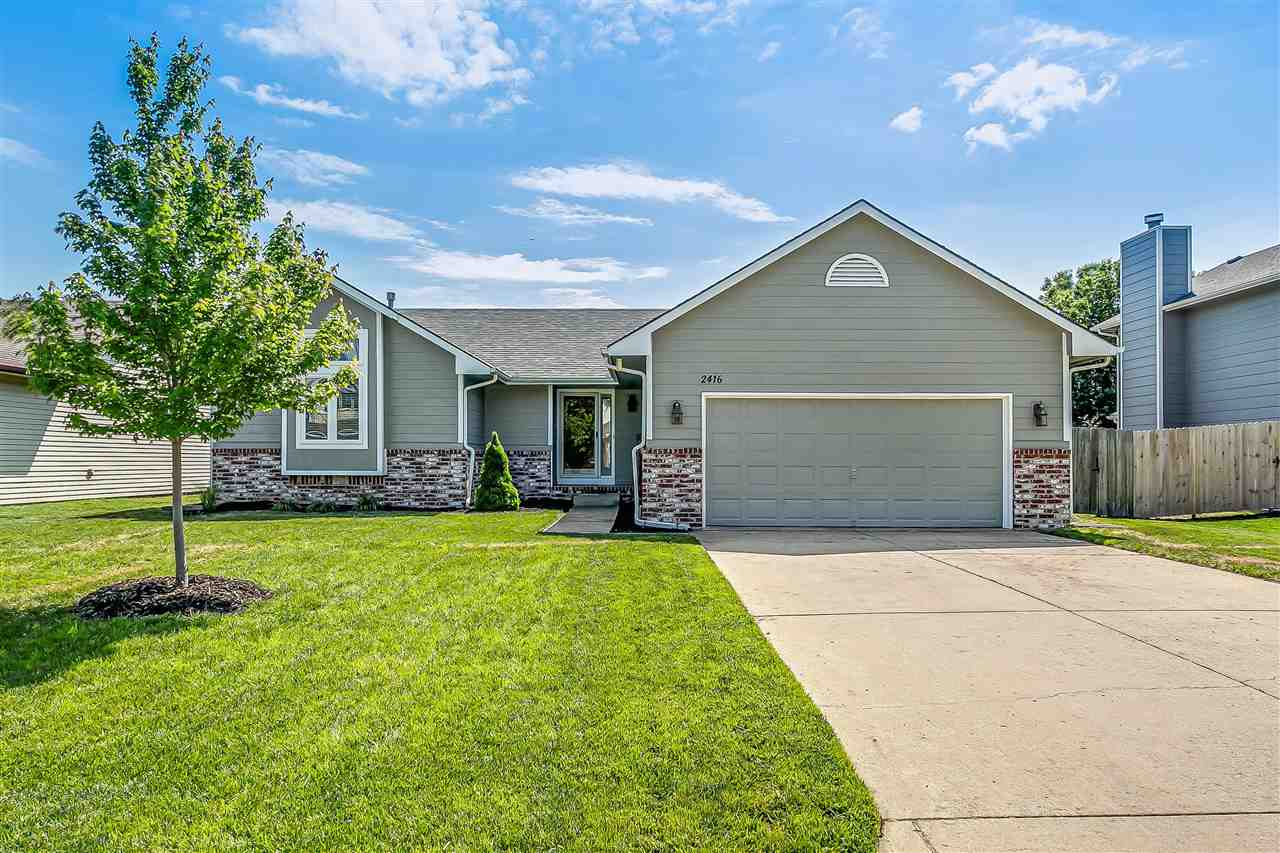 Great Location In This Super Nice Shows Well 4 Bedroom 3 Full Bath Ranch With Finished Basement!  Go