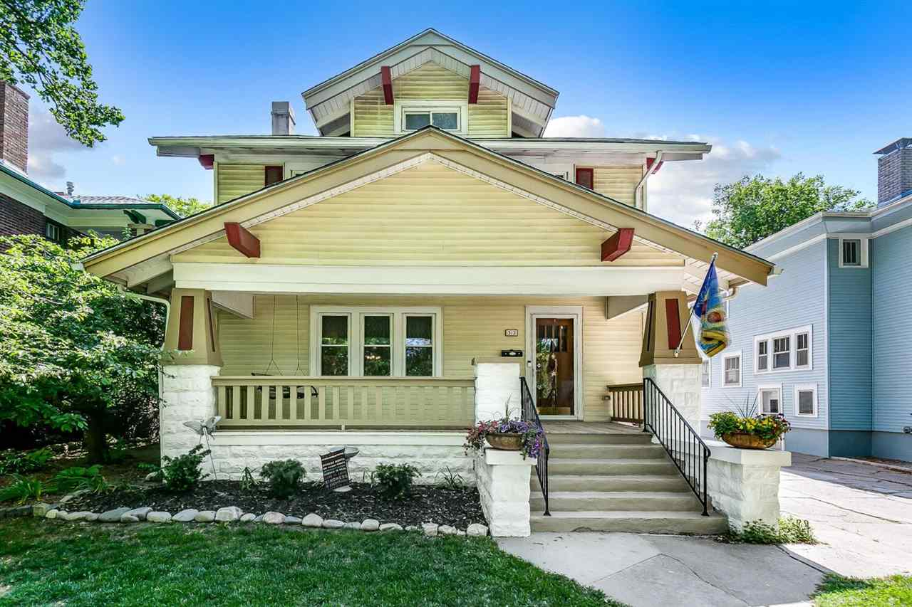 Welcome to the heart of College Hill! 312 N Fountain is a quintessential College Hill home that has
