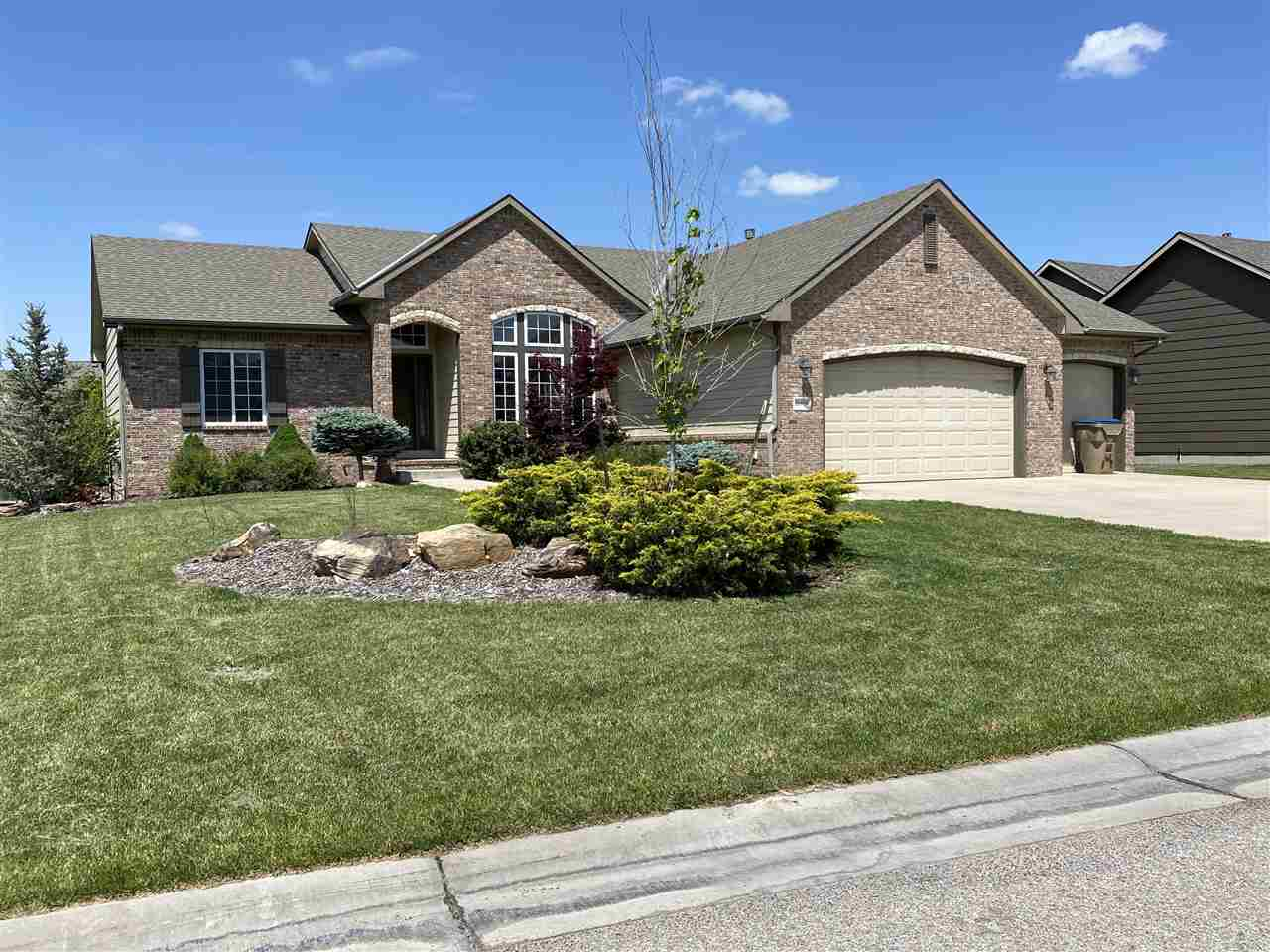 Welcome home to this attractive 5 BR, 3 BA, 3 Car ranch in Wichita, Sedgwick Co., Andover schools!!