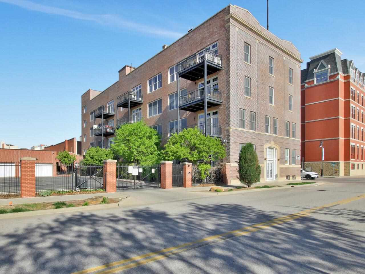 Private and secure loft apartment in the middle of bustling downtown Wichita, literal steps away fro