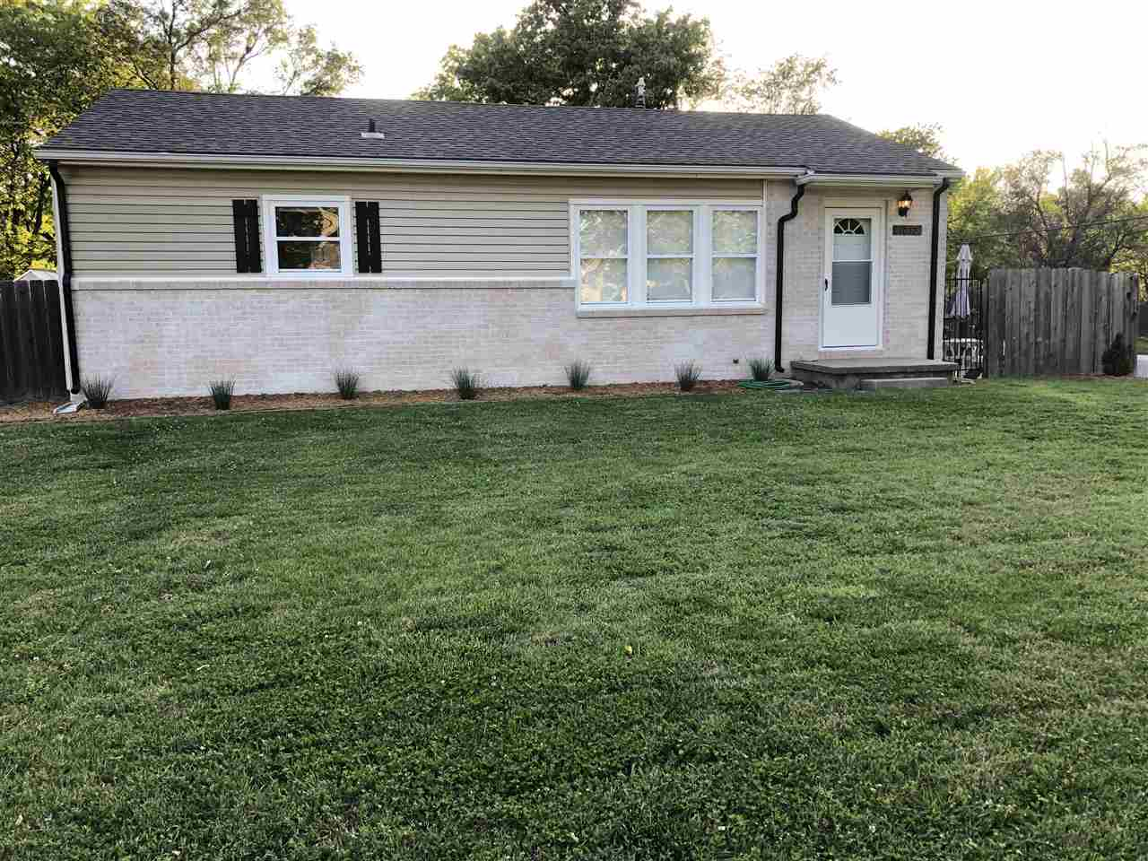 Beautiful Completely updated 3 bedroom 1 bath home on corner lot in desirable Derby neighborhood.  C