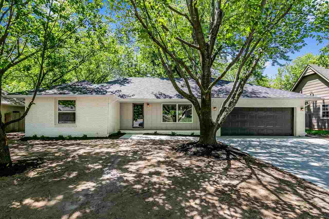 Beautifully remodeled home located in Derby new to the market! This home features a large open livin