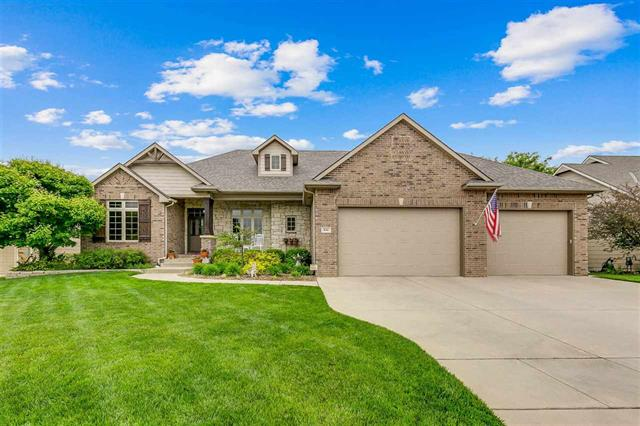 For Sale: 836 N CRESCENT LAKES PL, Andover KS