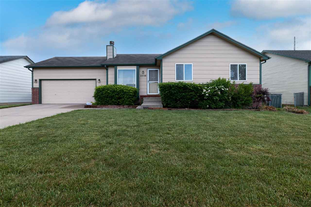 Check out this ranch in the Goddard School District! It has been well maintained and is ready for yo