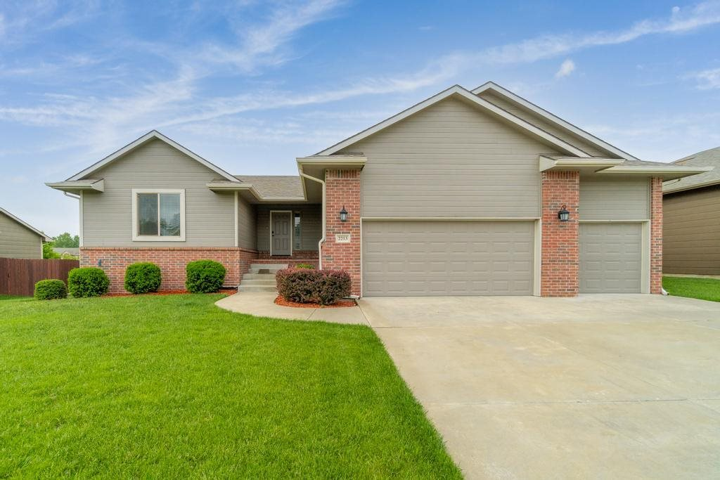 So many great things to share about this very well maintained 5 bedroom, 3 bathroom, 3 car garage ho